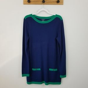 NWT Lands End Chanel dupe tunic sweater